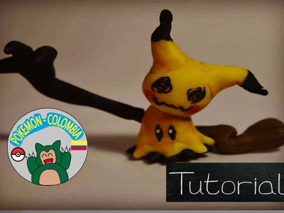 Pokemon ✰mimikkyu  Tutorial ✰ Polymer Clay ✰ Porcelana Fría ✰porcelanicron ✰ plastilina