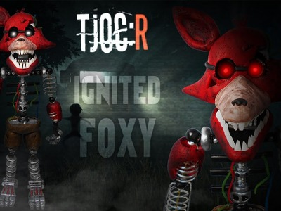 TJOC:R ✰ IGNITED FOXY Posable Figure Tutorial ✔ Polymer Clay ✔ Porcelana Fría
