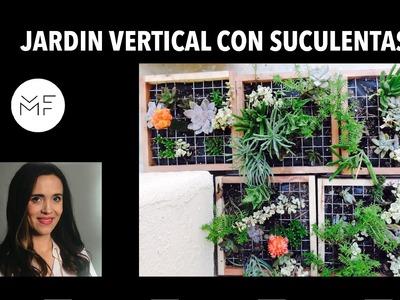 Cómo hacer un jardín vertical con cajas .DIY