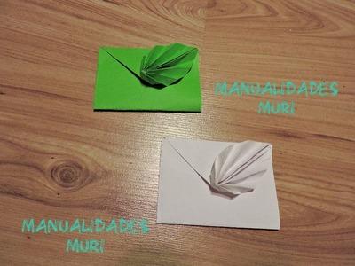 Manualidades, Cómo hacer una Carta en forma de Hoja