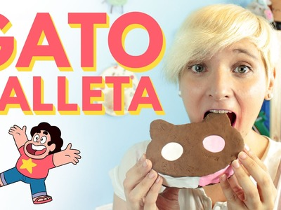 Manualidades con cartón: gatogalleta o COOKIE CAT a escala real. ¡PERFECTA PARA COSPLAY!
