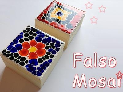 Manualidades: Falso Mosaico - Manualidades para todos