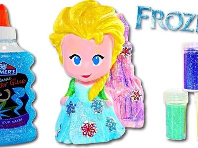 Disney Frozen Diseña a Tu Propia Vinyl Elsa Manualidades DIY Divertidas Para Niños con Amy Jo