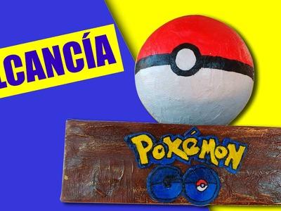 ✂ Haz una ALCANCÍA DE POKEBOLA! con material reciclable - Manualidades Ani Crafts