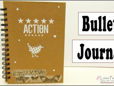 "Libreta Bullet Journal ""Tutorial Regreso a Clases"" | Luisa PaperCrafts"