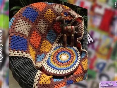 Mantas De Bebe en Granny Tejidas a Crochet ( Diseños )