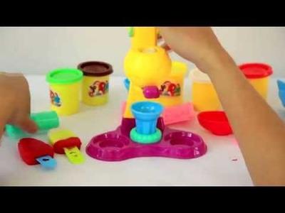 Paletas de Plastilina Play Doh - Rainbow Play Doh Popsicles - Mundo de Juguetes