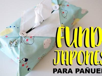 Funda japonesa para pañuelos de papel. DIY