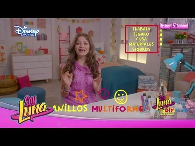 Disney Channel España | Soy Luna  DIY - Anillos Multiforme (Karol Sevilla)