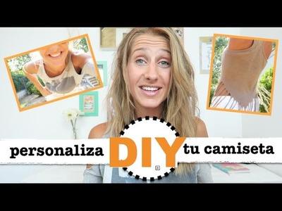 DIY | COMO PERSONALIZAR TU CAMISETA | VERANO 2016 ♡ STEFFIDO