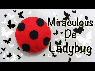 MIRACULOUS LADYBUG | MIRACULOUS. AMULETO ENCANTANDO. LUCKY CHARM | COMO HACER | DIY - YuureYCrafts