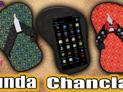 ♥ Tutorial: Tutorial Funda Chancla.Chancleta || Fip flop Mobile Case ♥