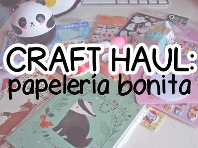 CRAFT HAUL 4: Papelería bonita ♡