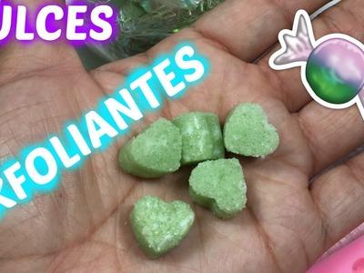 DIY Dulces exfoliantes. Candy scrubs