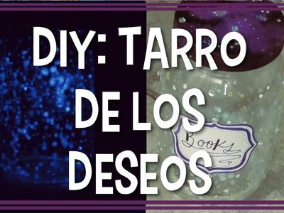 DIY || ¡Haz tu propio frasco de los deseos! (Night Light Stars Jar )