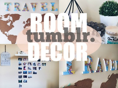DIY TUMBLR ROOM DECOR  | DIY DECORA TU CUARTO.HABITACIÓN  |Gabriela Ro