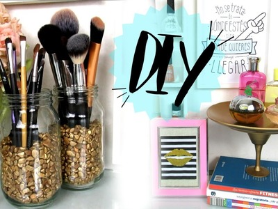 Organizador de Perfumes y Brochas Ideas fáciles y económicas para decorar DIY - foreverYuvelyn