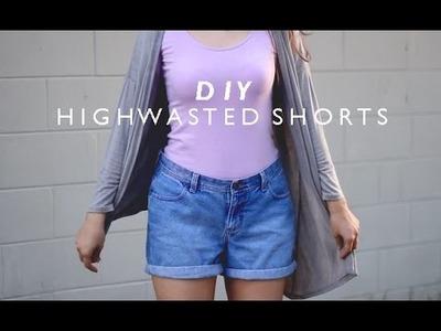 D I Y || Highwasted shorts + Ganador del sorteo!