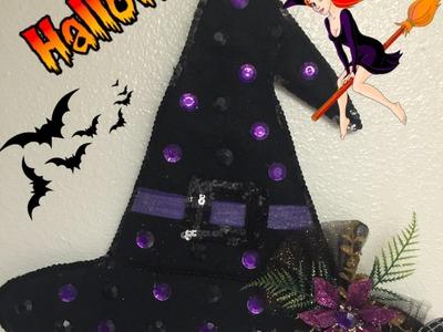 Diy: Manualidades para Halloween de Sombrero de Brujas