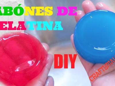 HAZ JABÓNES DE GELATINA. DIY: JELLY SOAP