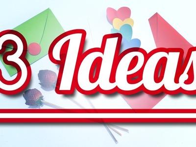 3 Ideas para Amor y Amistad - DIY | JuanTu3