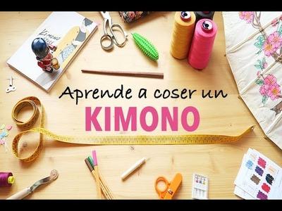 DIY CÓMO HACER UN KIMONO DE PRINCIPIO A FIN - Aprende a coser