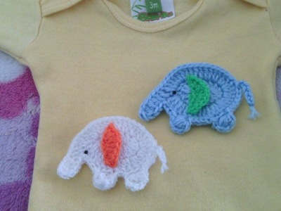 Elefantes tejidos a crochet paso a paso