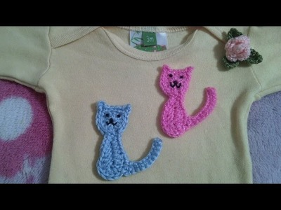 Gatos en crochet fácil y rápido