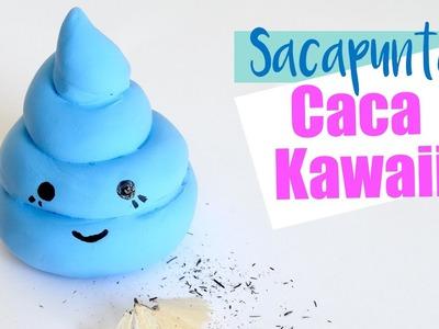 HAZ UN SACAPUNTAS CON FORMA DE CACA KAWAII I DIY Personaliza el tajador de la escuela ♥ Qué cositas