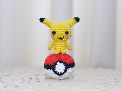Como hacer pikachu, amigurumi, crochet