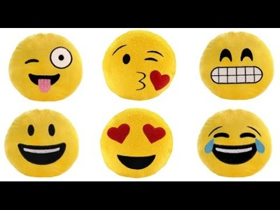 Como hacer un Cojines de Emoji - How To Make your favorite EMOJIS