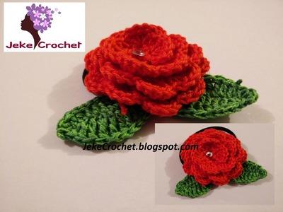 Flor Sencilla Para Aplicaciones Crochet- Ganchillo - Uncinetto