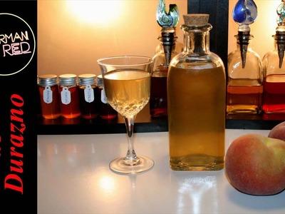 Cómo hacer un licor casero de DURAZNO O MELOCOTÓN