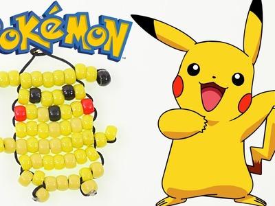 Como Hacer un Llavero de Pikachu con Beads ★ Manualidades DIY Pokemon Go Para Niños