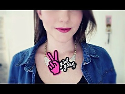 DIY COLLAR CON PARCHES - Giggsy Makeup