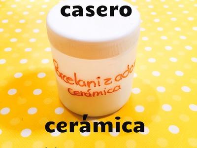 DIY porcelanizador casero para Cerámica Servilleta fácil porcelanizador for ceramics