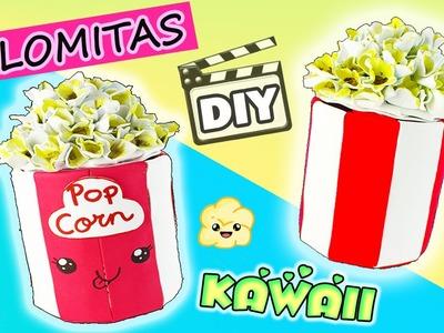 DIY- CAJA de PALOMITAS KAWAII de CINE :) Palomitas de FOAMY!!!- Mery