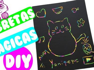 Libretas Mágicas | DIY Cuadernos Mágicos | Scratch Off