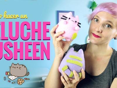 Cómo hacer un PELUCHE de PUSHEEN!! Manualidades fáciles con Miss Little Zombie