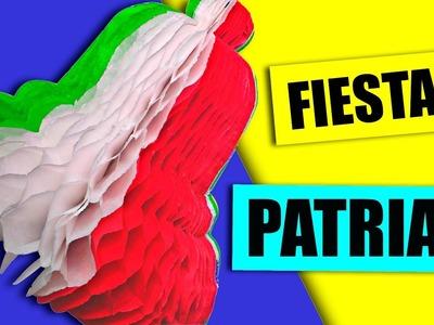 Haz una campana tricolor, fácil y sencillo! Para Fiestas Patrias - México - Manualidades Ani Crafts