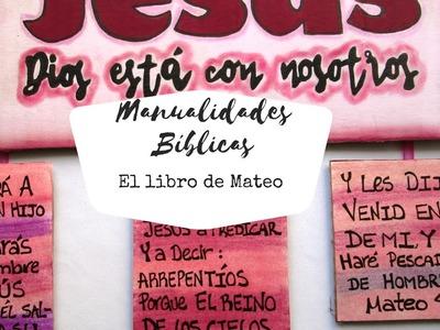 Manualidades bíblicas. haciendo manualidades con lo que nos sobró