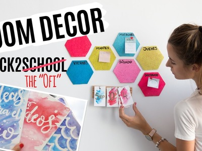 3 DIY para volver a la rutina | ROOM DECOR BACK TO SCHOOL