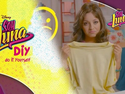 Disney Channel España | Soy Luna - DIY Fashion & Beauty - Camiseta Estampada (Karol Sevilla)