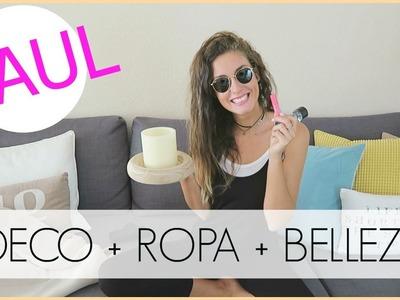 MEGA HAUL para OTOÑO | DECO + MODA + BELLEZA + DIY