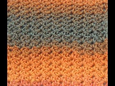 Crochet: Punto Bajo Variación # 2, Reversible