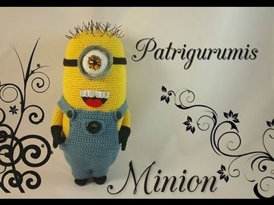 DIY Minion amigurumi en ganchillo - Crochet