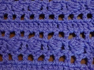 Puntada a crochet,  rápida y divertida. Muestra No. 29