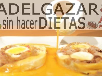 SALSA GRAVY DE POLLO # ADELGAZAR SIN HACER DIETAS