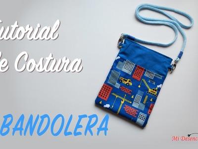 Tutorial #44 - Como hacer una Bolsita Bandolera - How to make a bag