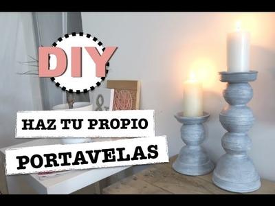 DIY | HAZ TU PROPIO PORTAVELAS | FACIL RAPIDO Y ECONOMICO ♡ STEFFIDO